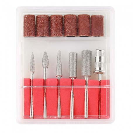 Kit complet Embouts pour Ponceuse Ongle
