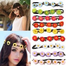 Headband fleurs marguerites
