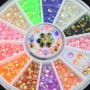 3D Nail Art Strass Décoration Carrousel