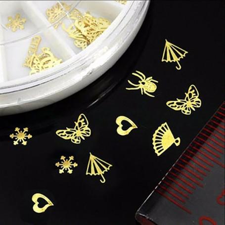 3D Nail Art Strass Décoration Carrousel