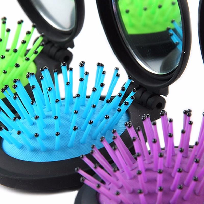 Brosse Pliante avec Miroir