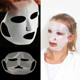 Masque Visage en Silicone pour masques imbibés
