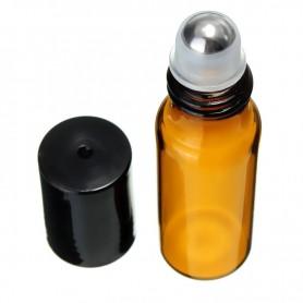 Flacon Roll On verre ambré