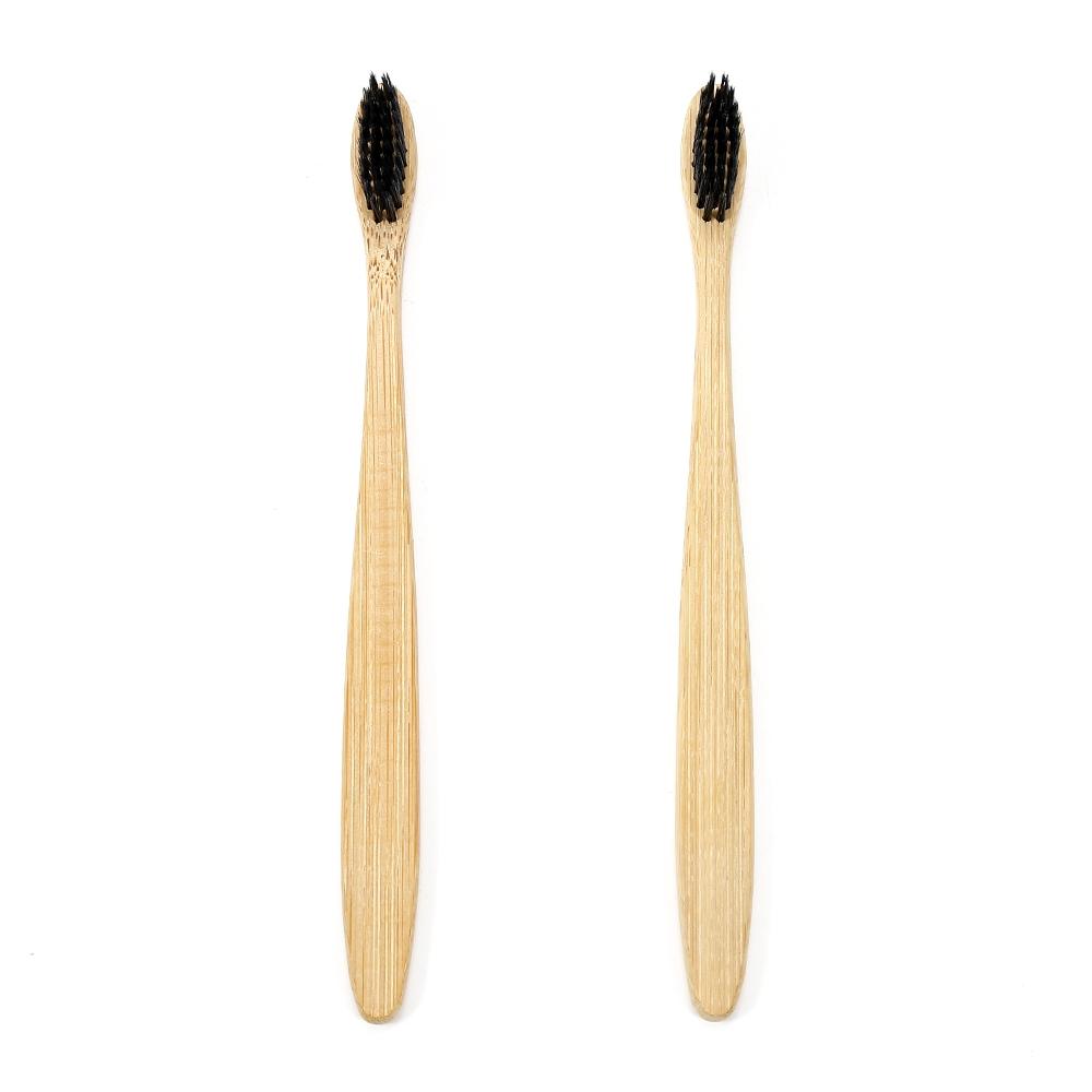 Brosse à Dents en Bois Charbon de Bambou