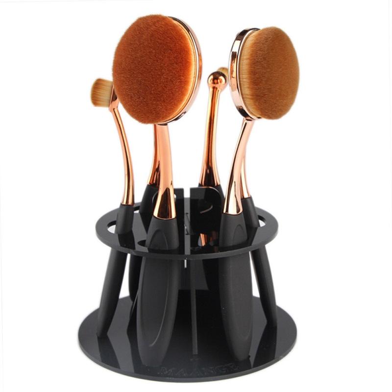 Support rond pour pinceaux de maquillage