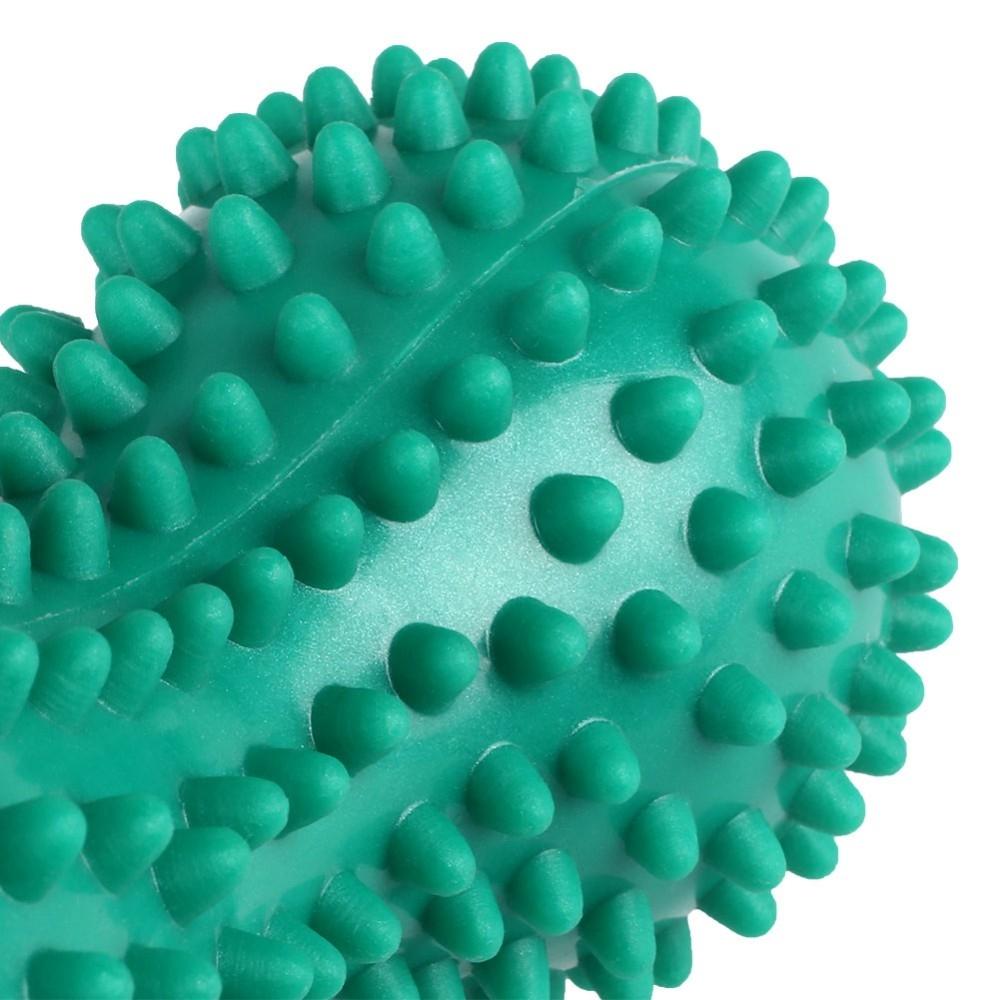 Balle de massage double à picots