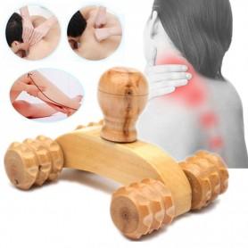 Rouleau de Massage en bois