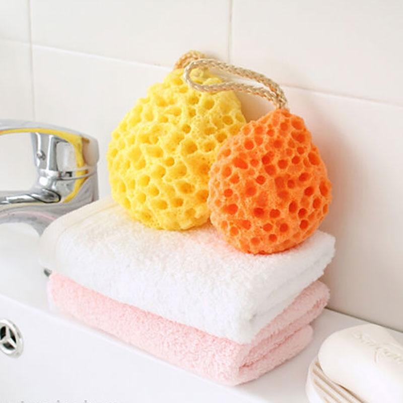 Eponge corps pour la douche et le bain