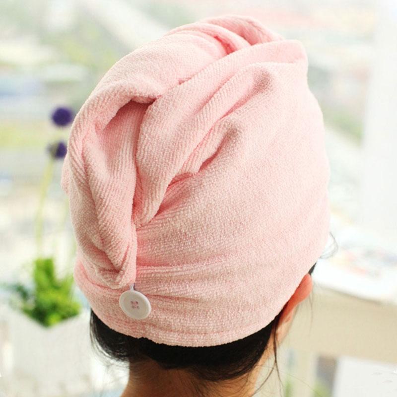 Serviette Turban Microfibre Cheveux