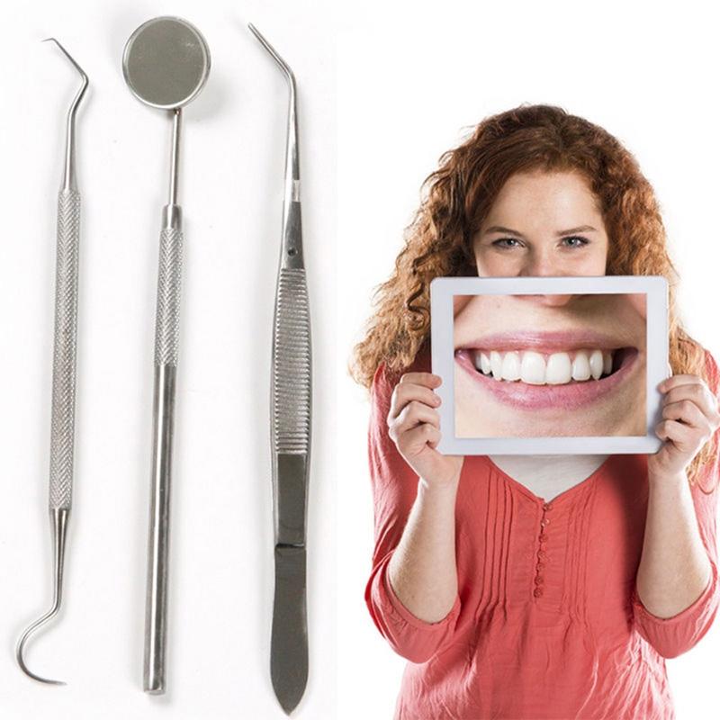 Lot de 3 instruments dentaires