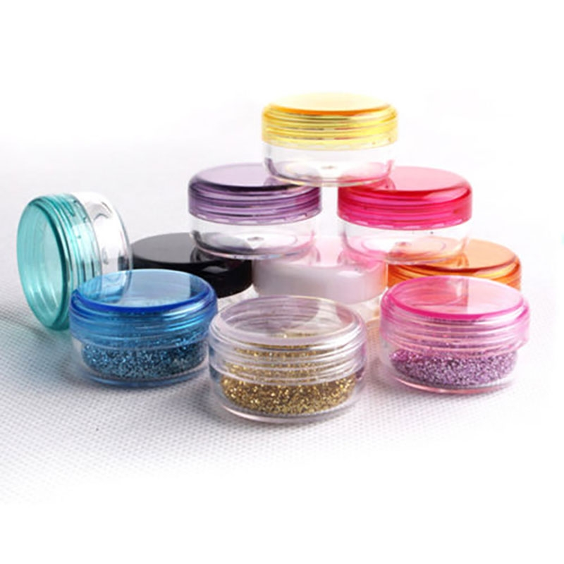 X10 Petits Pots vides cosmétique