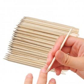 X100 Bâtonnets en bois manucure