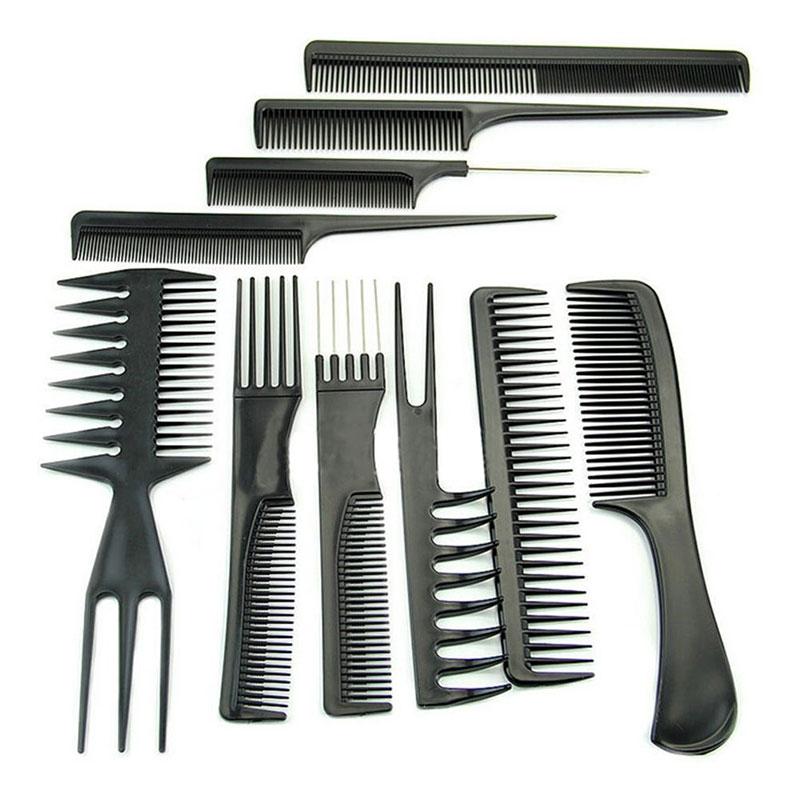 Lot de 10 Peignes à Cheveux