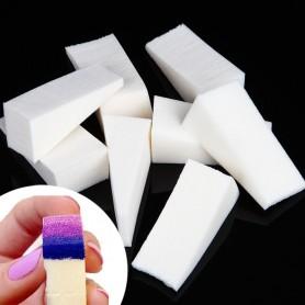 X8 Eponges Nail Art spécial dégradé