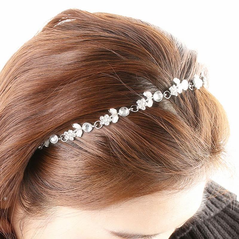 Headband Fleurs Strass