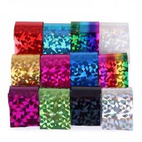 X12 Foils Nail Art Diamant