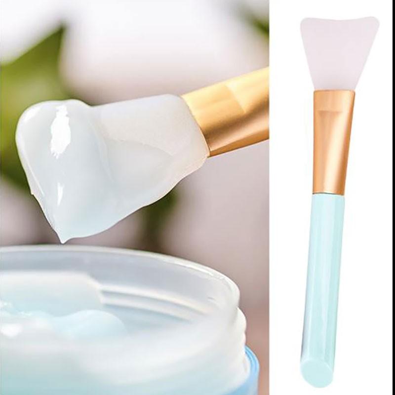 Pinceau en silicone pour masque visage