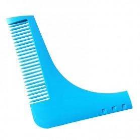 Traceur de contour de barbe