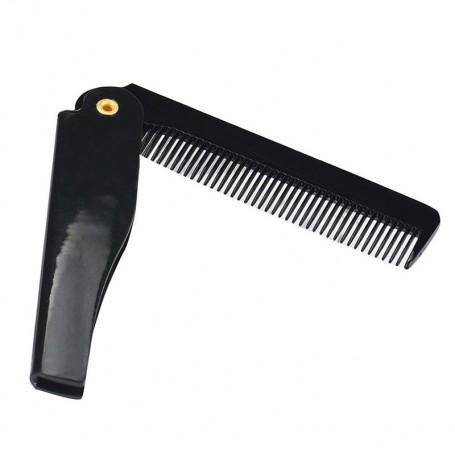 Peigne à barbe pliant de poche