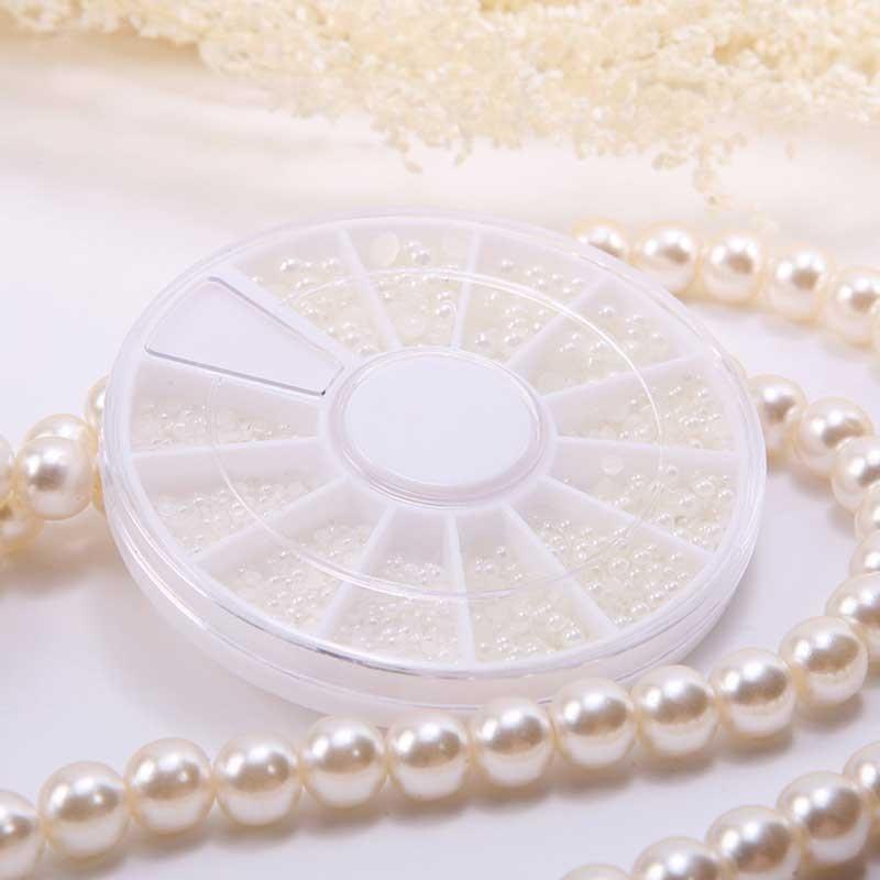 Distributeur de mini perles Nail Art