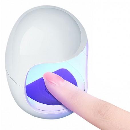 Mini lampe UV LED pour ongle de poche