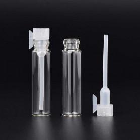 X50 Echantillons vide Flacon en verre pour parfum 1ml
