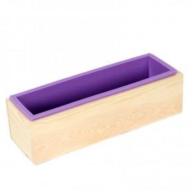 Moule à savon en bois