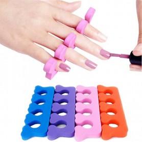 X10 Séparateurs manucure pédicure ongles