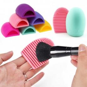 Brosse Silicone Nettoyante pour Pinceaux de Maquillage