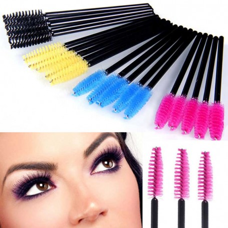 X50 Brosses à Mascara Jetables