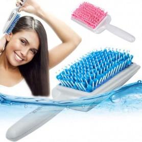 Brosse cheveux microfibre séchante antistatique