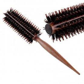 Brosse Cheveux Ronde en bois