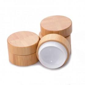 Pot pour crème en Bambou