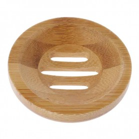 Porte Savon rond en bois