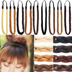 Headband Cheveux tressés