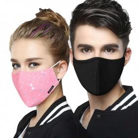 Masque en coton réutilisable lavable