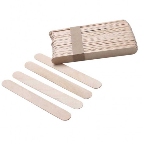 X10 Spatules épilation en bois