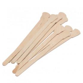 X10 Spatules en bois cosmétique