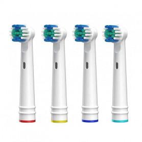 X4 Têtes pour brosse à dent Électrique